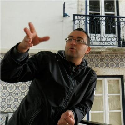 Carlos Pires guide accompagnateur de voyage à Lisbonne