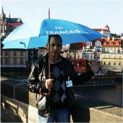Moussaoui Rezki guide accompagnateur de voyage à Prague