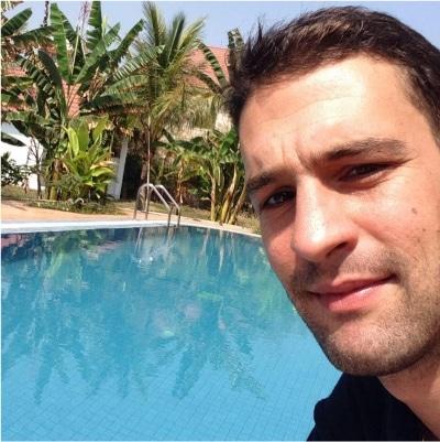 Ludovic Le Dizes guide accompagnateur de voyage au Cambodge