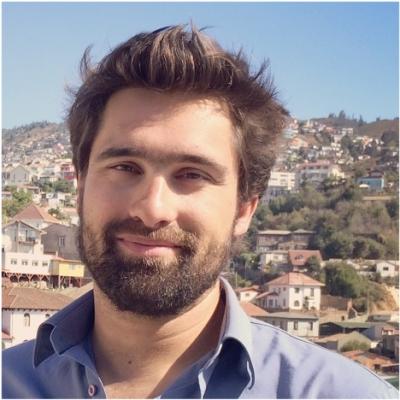 Valentin Marion guide accompagnateur de voyage à Valparaiso au Chili