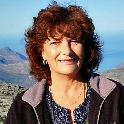 Brenda Dornbrack guide accompagnatrice de voyage en Afrique du Sud