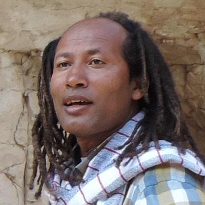 Eyassu Dagnew guide accompagnateur de voyage en Éthiopie