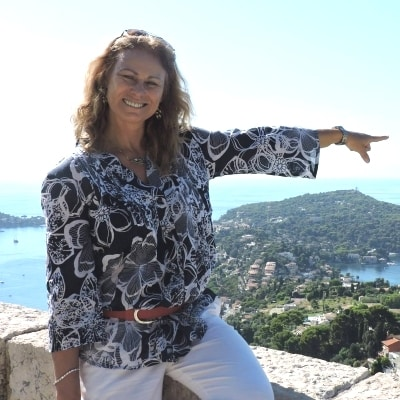 Sylvie Di Cristo guide accompagnatrice de voyage en Provence Côte d
