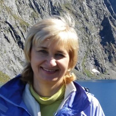 Iryna Stewart guide accompagnateur de voyage en Nouvelle-Zélande