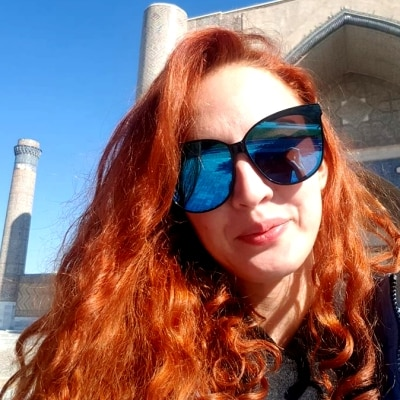 Lilian Shaykhutdinova guide accompagnatrice de voyage en Ouzbékistan