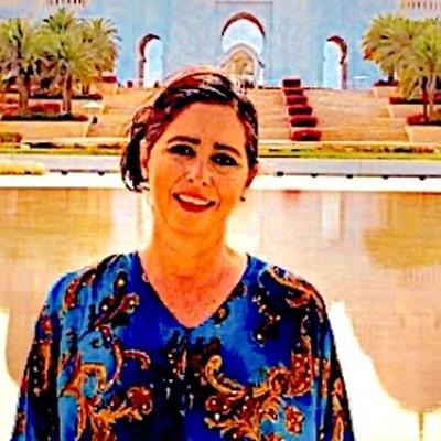 Verónica Escamilla guide accompagnatrice de voyage à Abou Dabi