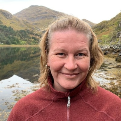 Hannele Maarit Korhonen guide accompagnatrice de voyage en Ecosse