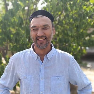 Dildabek Bekman accompagnateur de voyage au Kazakhstan