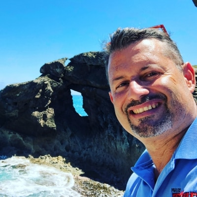 Rafael Torres Aponte guide accompagnateur de voyage à Porto Rico