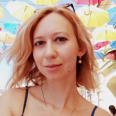 Taya Samoylova guide accompagnatrice de voyage à Kiev