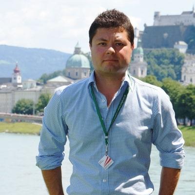 Evgeniy Gumennikov guide accompagnateur de voyage à Salzbourg en Autriche