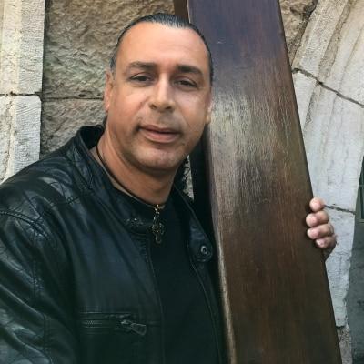 David MansourDaniel Bishara Sahwani accompagnateur de voyage en Israël