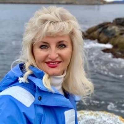 Radmyla Jacobsen guide accompagnatrice de voyage en Norvège