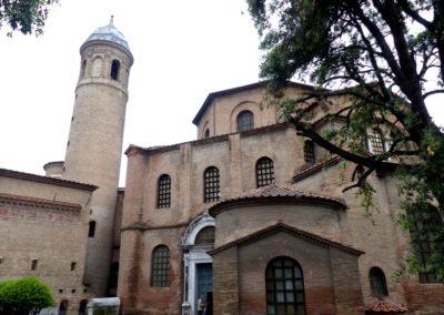 Extérieur Basilique Saint-Vital de Ravenne