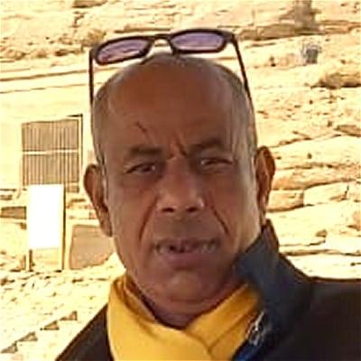 Hussein Ahmed guide accompagnateur de voyage en Égypte